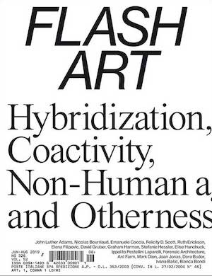 Flash Art magazine